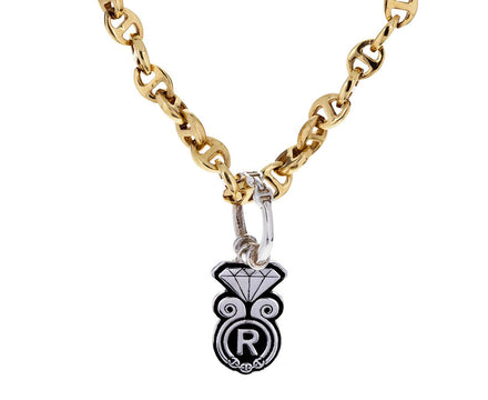 Silver Diamond Charm Pendant ONLY - TWISTonline