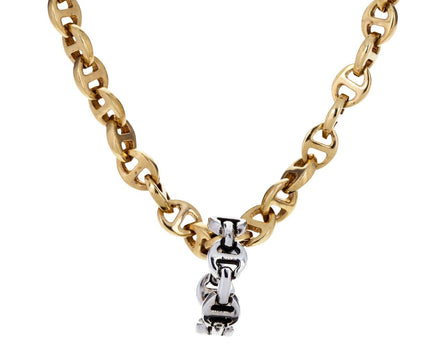 Silver Classic Tri-Link Charm Pendant ONLY - TWISTonline