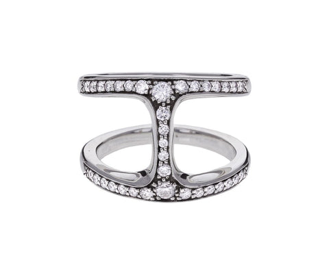 Sterling Silver Diamond Phantom Ring - TWISTonline