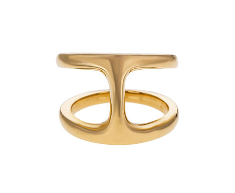 Yellow Gold Phantom Ring - TWISTonline