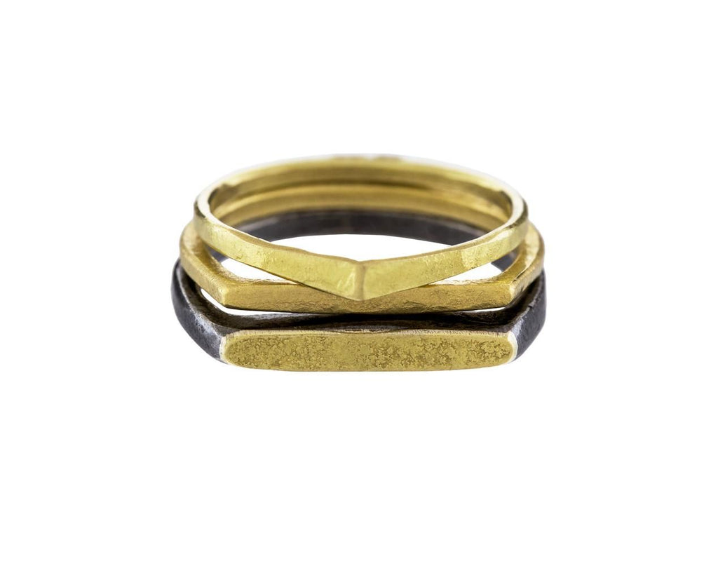 Gold Dainty D Ring - TWISTonline