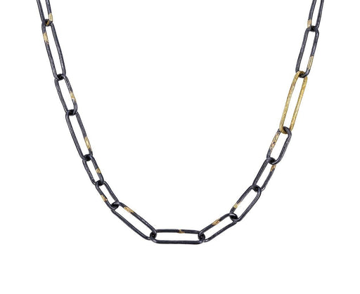 Gold and Silver Link Necklace - TWISTonline
