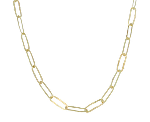 Short Thin Link Chain Necklace - TWISTonline