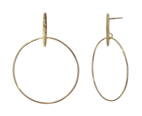 Swing Hoop Earrings - TWISTonline