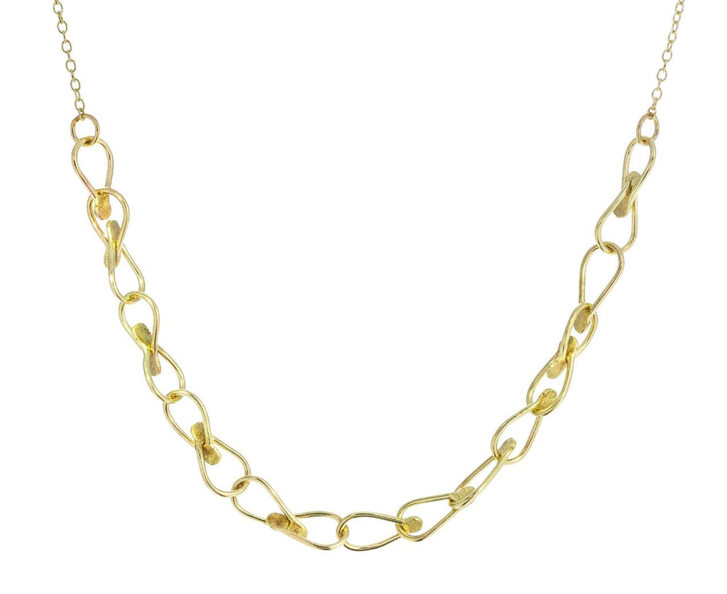 Dot Cable Chain Necklace zoom 1_sophie_hughes_gold_dot_cable_chain_necklace