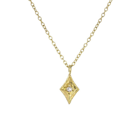 Diamond Rhombus Pendant Necklace - TWISTonline