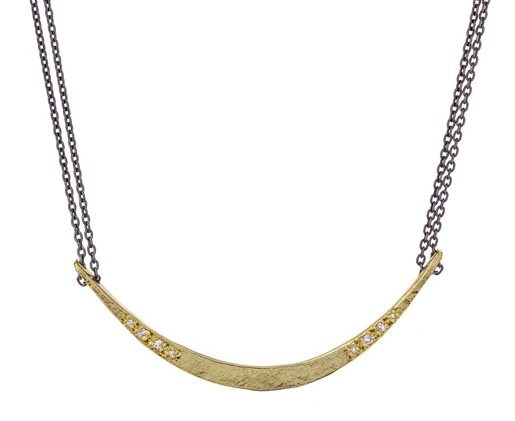 Long Crescent Necklace zoom 1_sophie_hughes_gold_diamond_mini_sickle_necklace