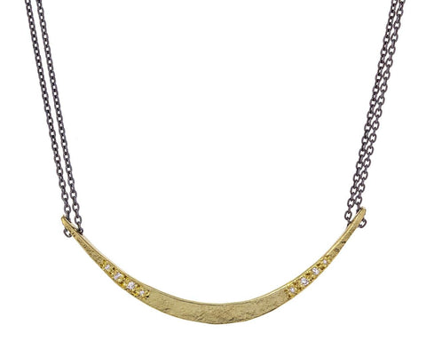 Long Crescent Necklace - TWISTonline