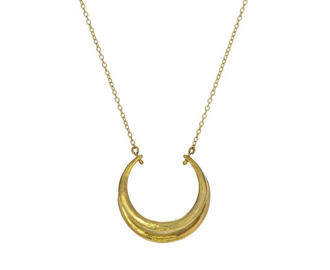 Tri Hoop Pendant Necklace - TWISTonline