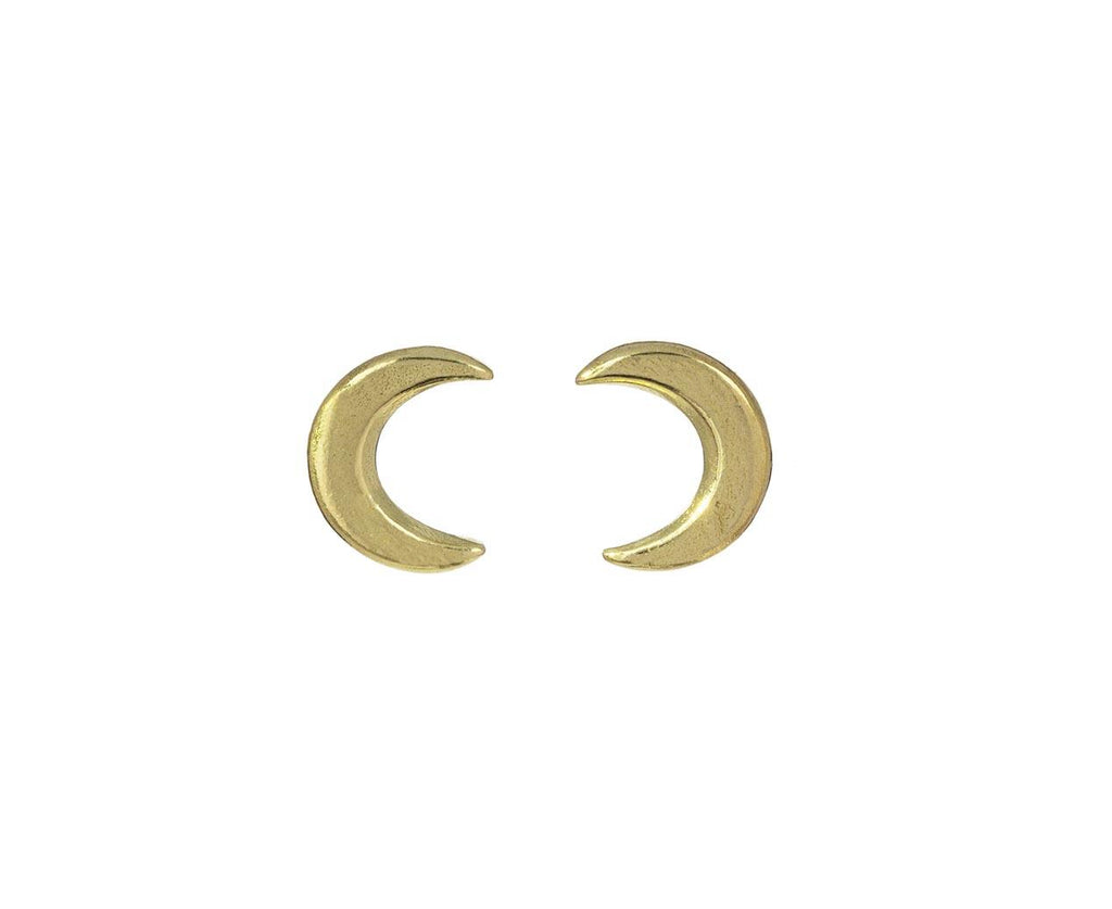 Tiny Crescent Earrings zoom 1_sophie_hughes_gold_tiniest_crescent_earrings