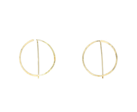 Small Enso Hoop Earrings - TWISTonline