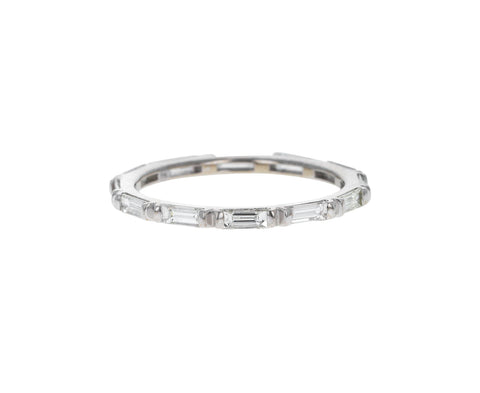 White Gold Solstice Diamond Eternity Band