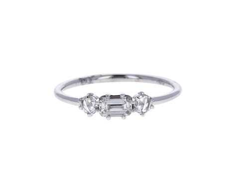 White Gold Diamond Solana Ring