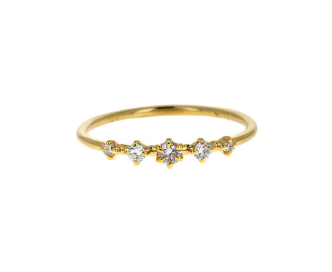 Solar Diamond Ring
