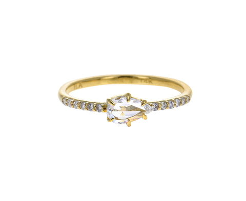 Pisces Diamond Ring