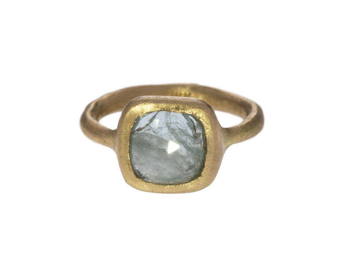 Icy Blue Sapphire Ring - TWISTonline