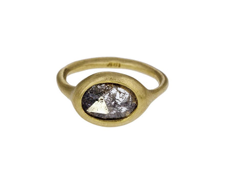 Silver Lacy Rustic Diamond Ring - TWISTonline