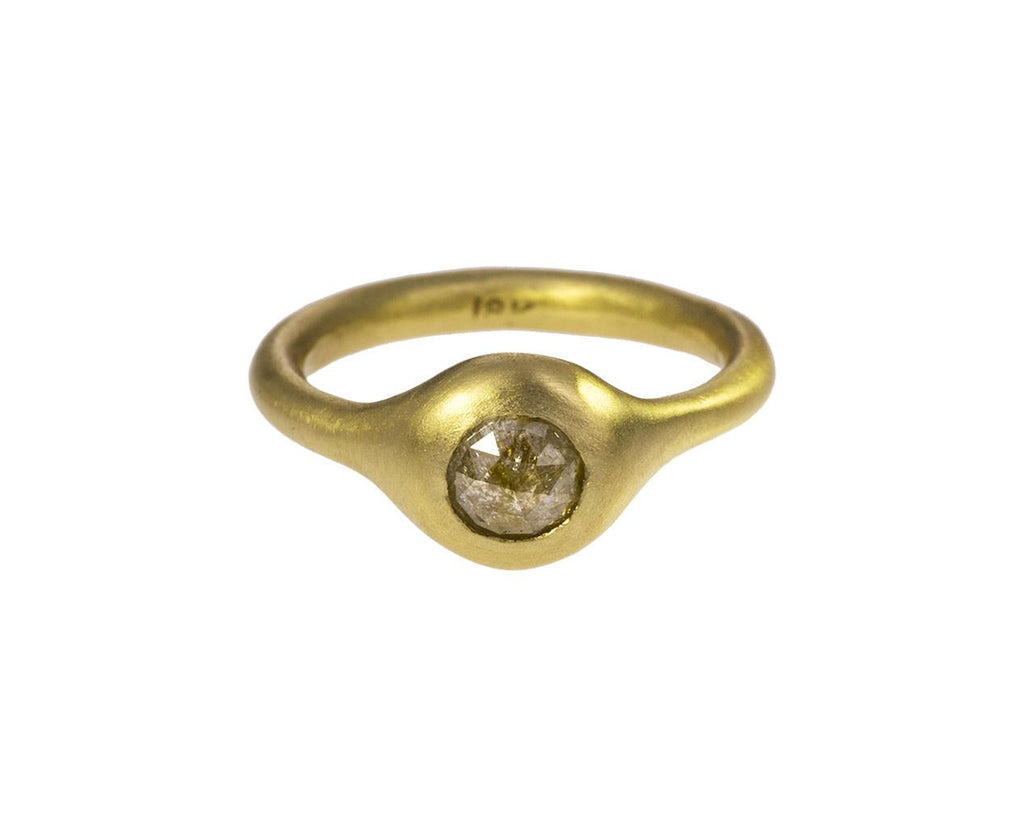 Round Rustic Diamond Ring - TWISTonline