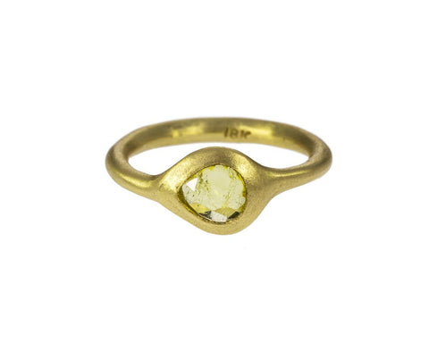 Lemon Tourmaline Ring - TWISTonline