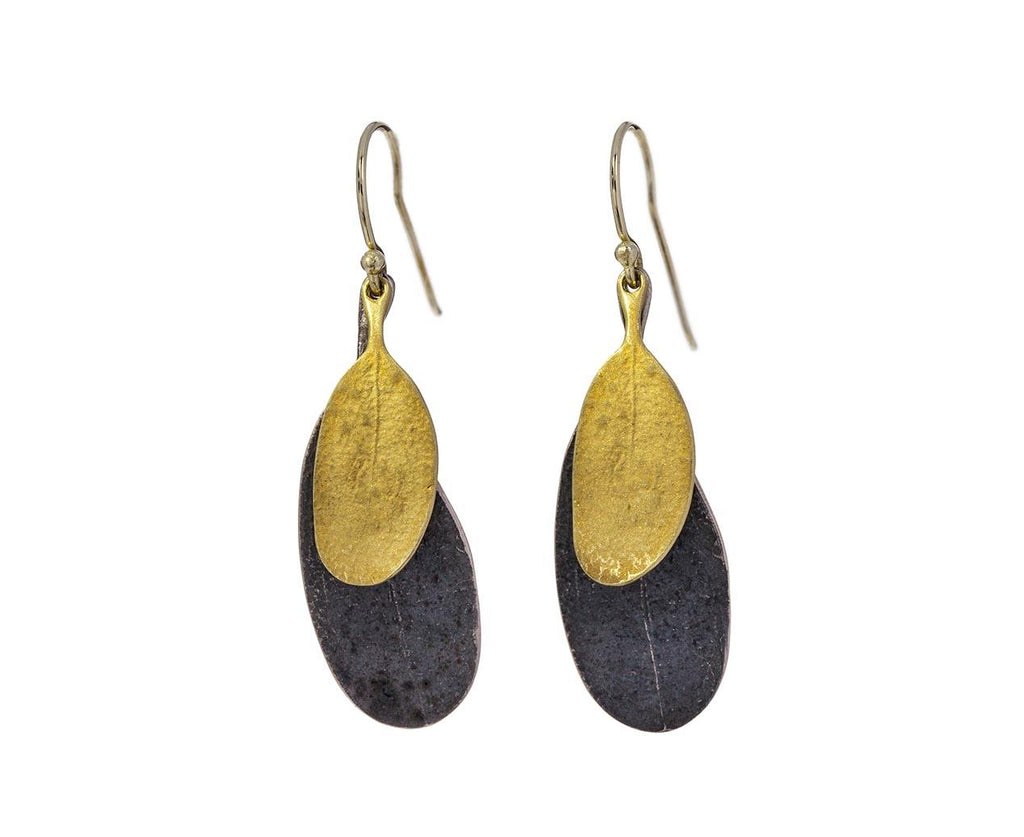 Double Leaf Earrings - TWISTonline