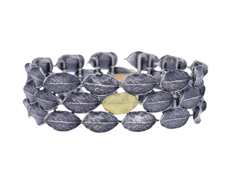 Silver and Gold Fall River Bracelet