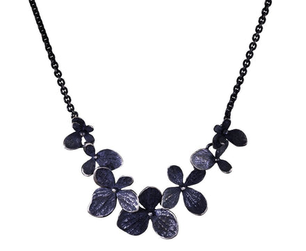 Multi-Hydrangea Flower Necklace - TWISTonline