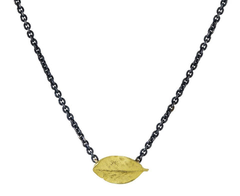 Gold Boxwood Necklace - TWISTonline