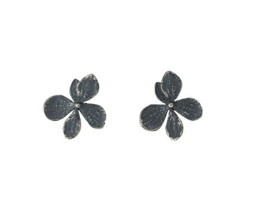 Silver Hydrangea Earrings - TWISTonline