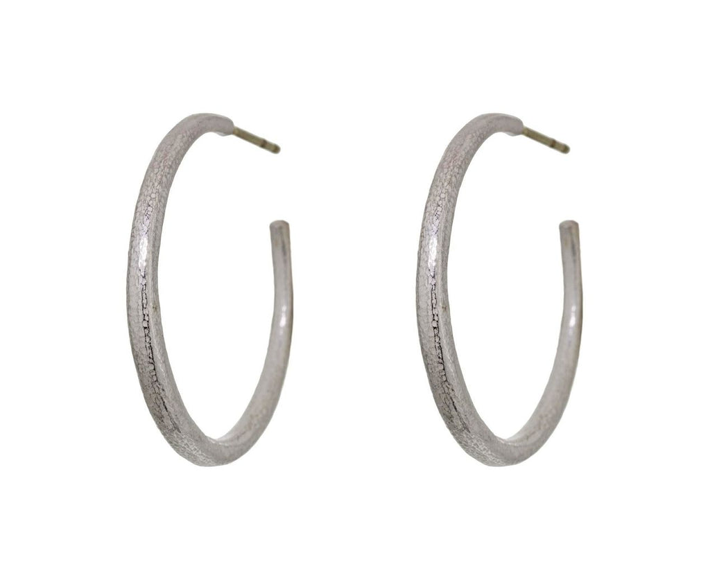Silver Hoop Earrings zoom 1