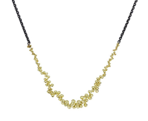 Gold and Silver V Necklace - TWISTonline
