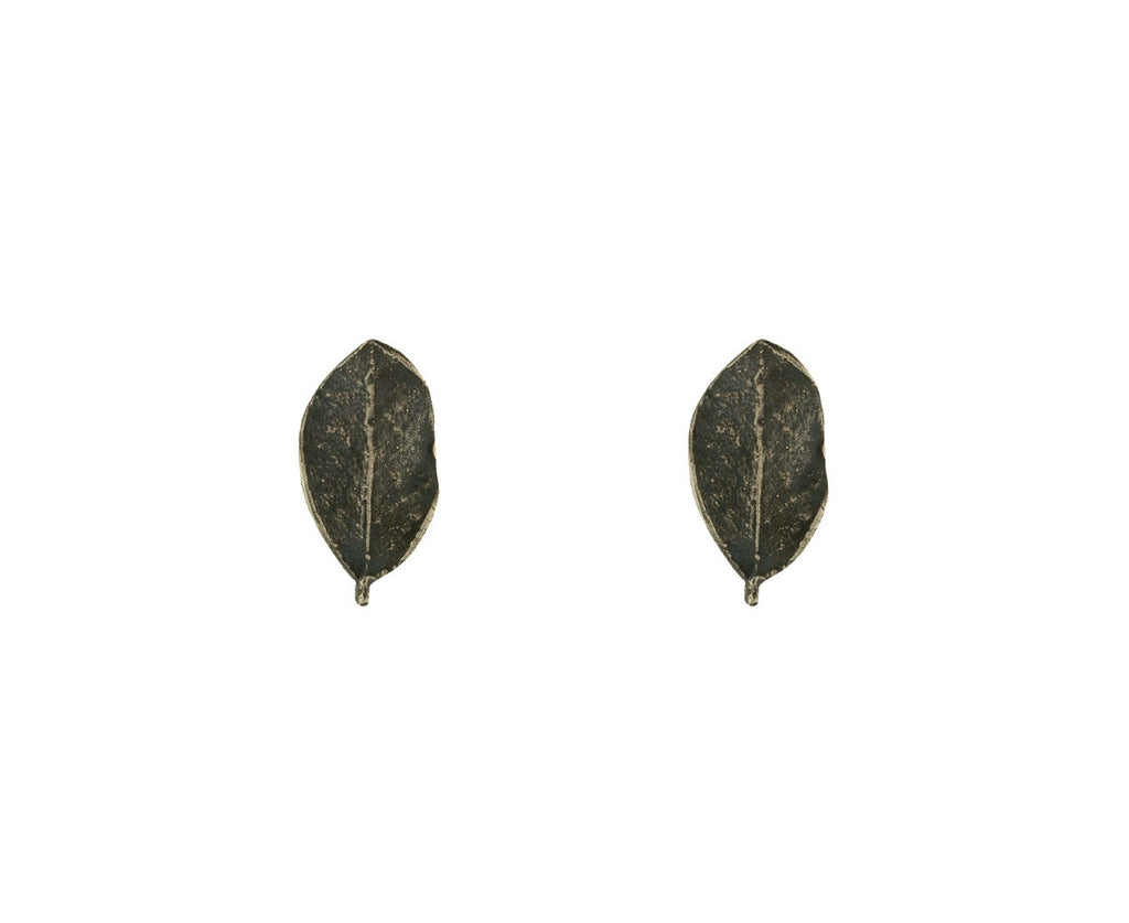 Single Leaf Earrings zoom 1