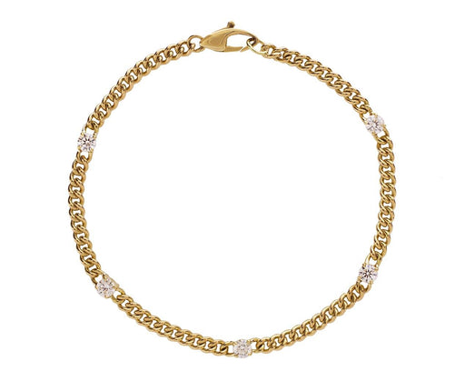 Diamond Toujours Chain Bracelet - TWISTonline
