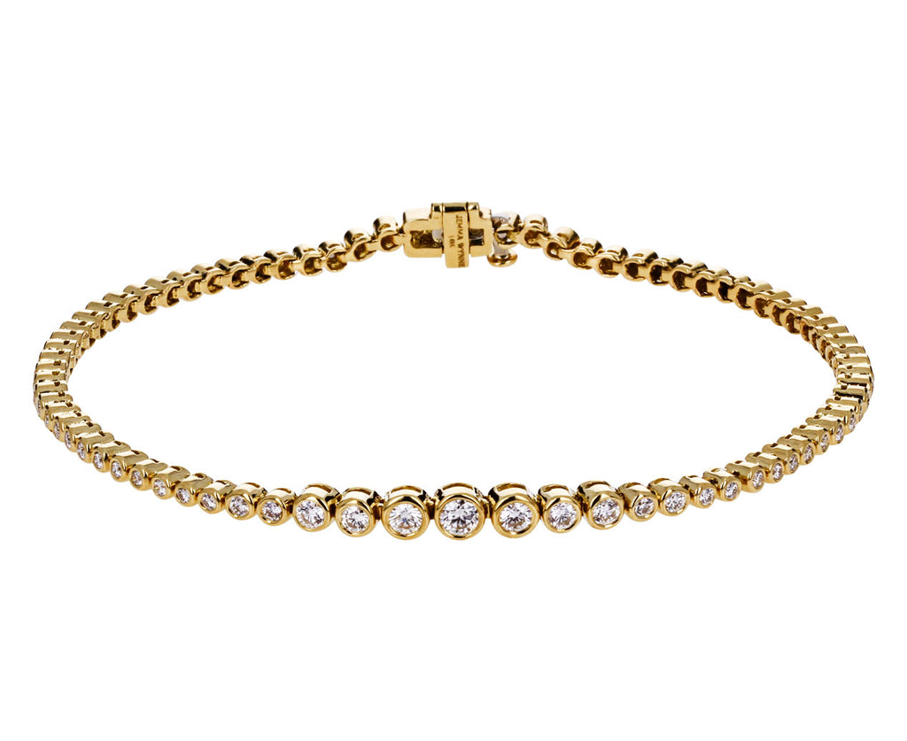 Graduated Diamond Prive Tennis Bracelet