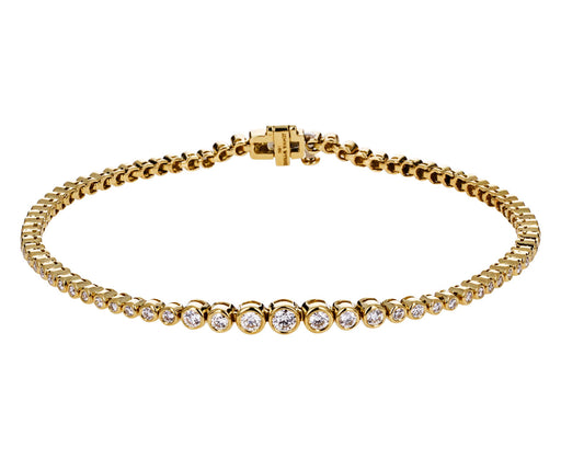 Graduated Diamond Prive Tennis Bracelet - TWISTonline