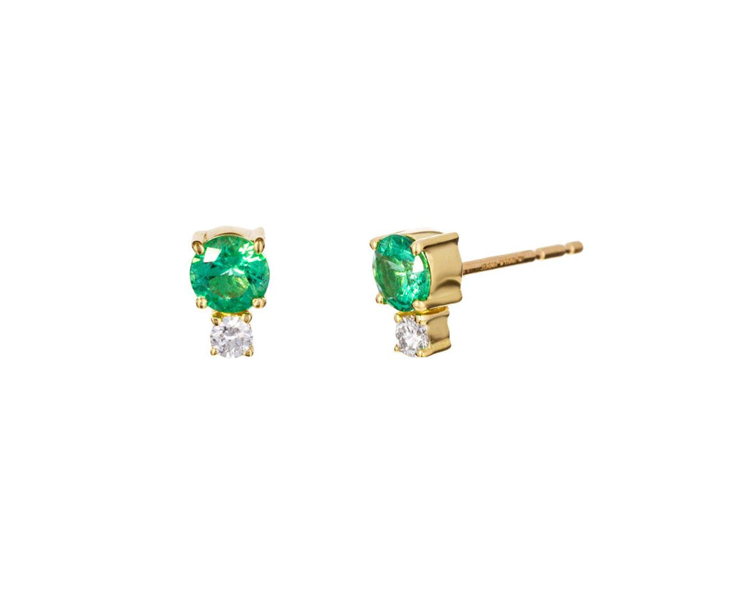 Emerald and Diamond Prive Earrings - TWISTonline