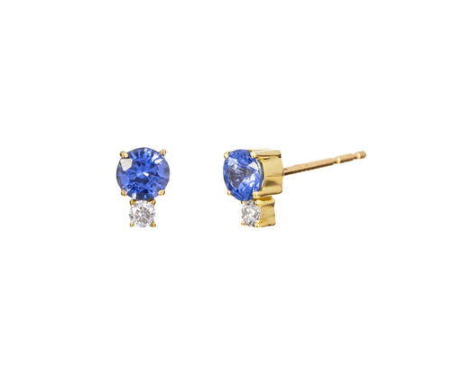Sapphire and Diamond Prive Earrings - TWISTonline