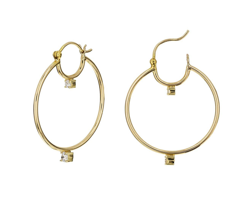 Diamond Prive Hoop Earrings - TWISTonline