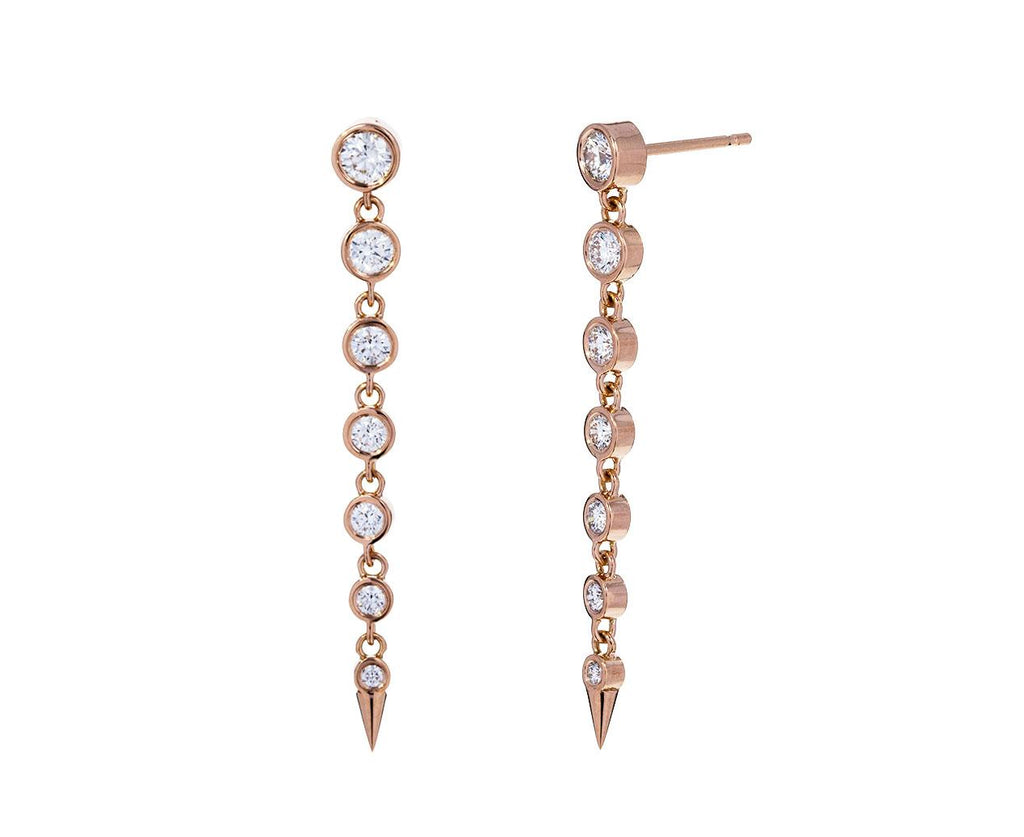 Graduated Diamond Drop Privé Earrings - TWISTonline