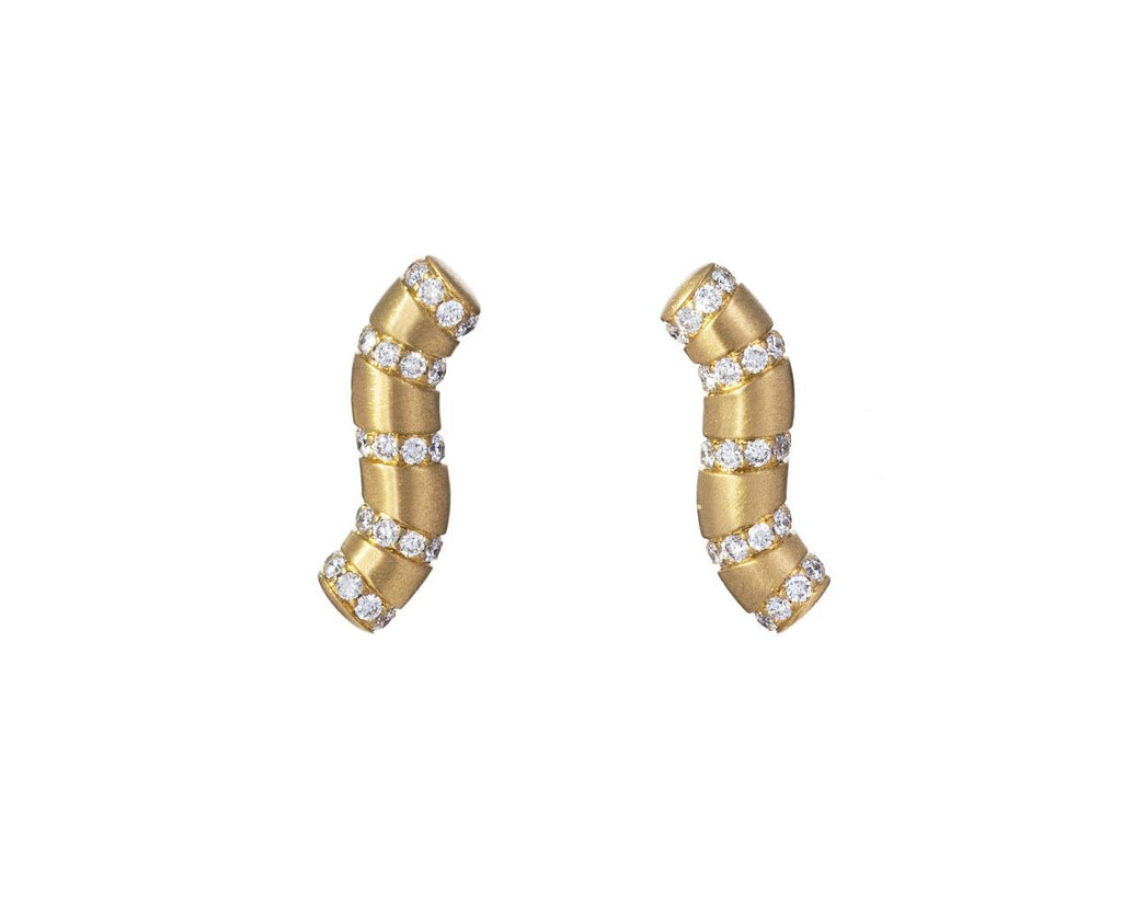 Diamond Aria Wave Earrings - TWISTonline
