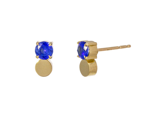 Blue Sapphire Prive Earrings