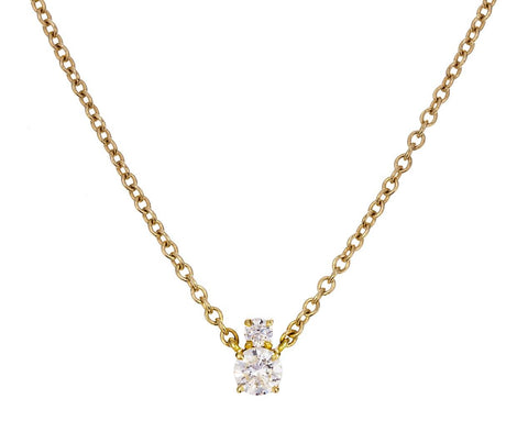 Double Diamond Prive Luxe Necklace - TWISTonline