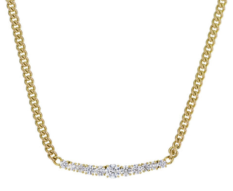 Diamond Bar Toujours Necklace - TWISTonline