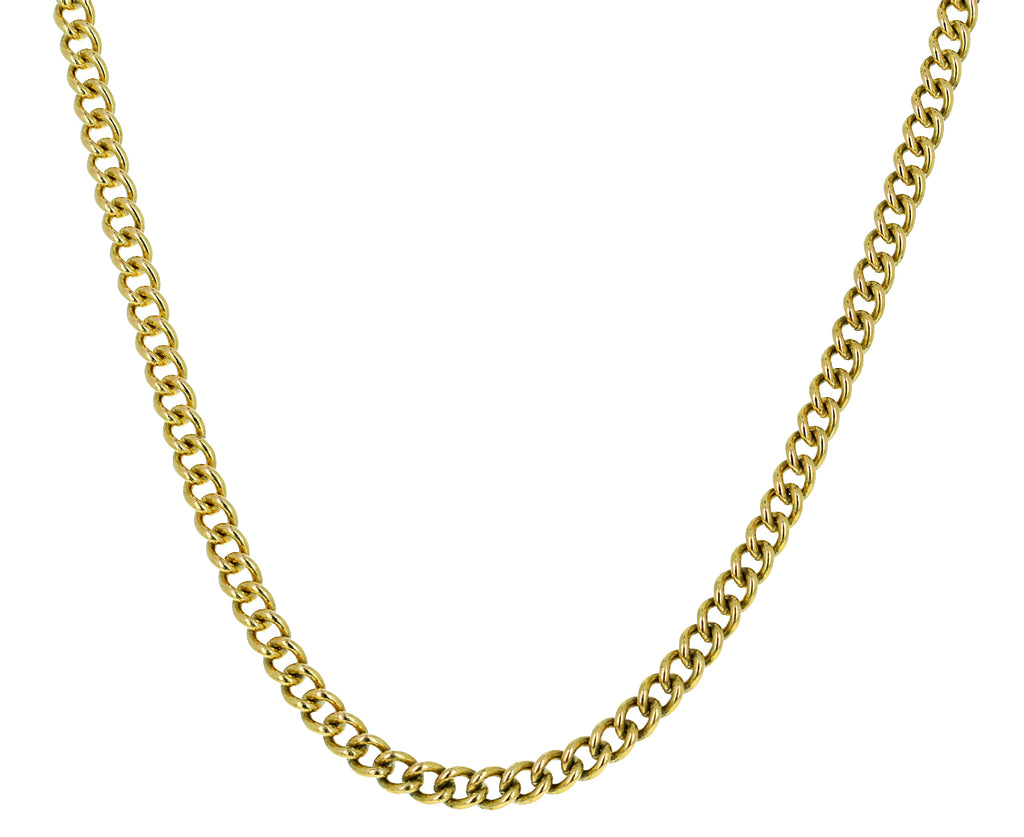 Gold Prive Medium Chain Necklace