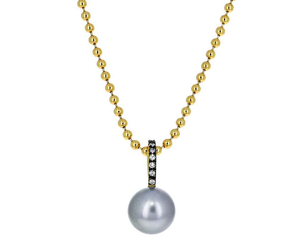 Gold and Diamond Prive Pearl Pendant ONLY