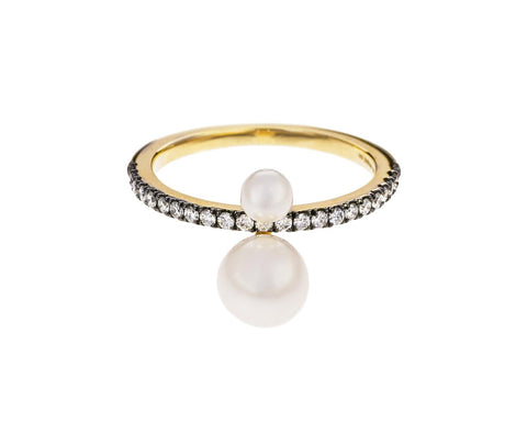 Diamond and Pearl Prive Ring - TWISTonline