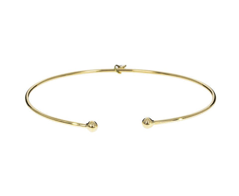 Prive Open Ball Cuff Bangle - TWISTonline