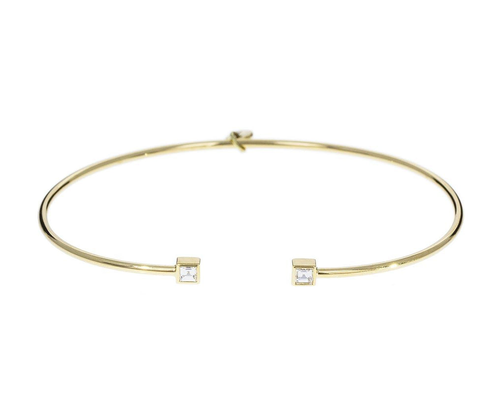 Prive Square Diamond Bangle - TWISTonline