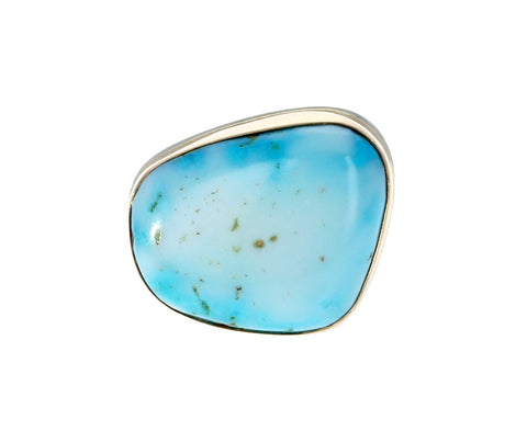 Asymmetrical Candelaria Hills Turquoise Ring