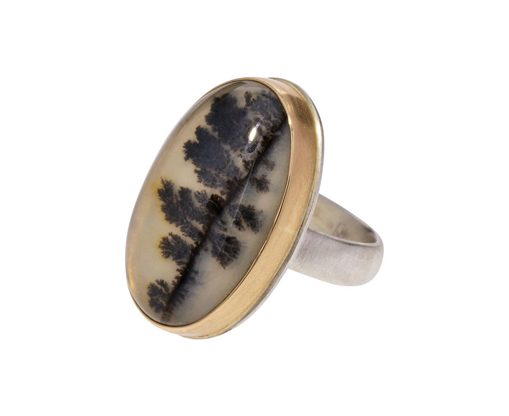 Dendritic Agate Ring - TWISTonline