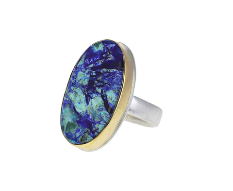 Chrysocolla Malachite Azurite Ring